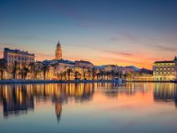 split-croatia-dusk