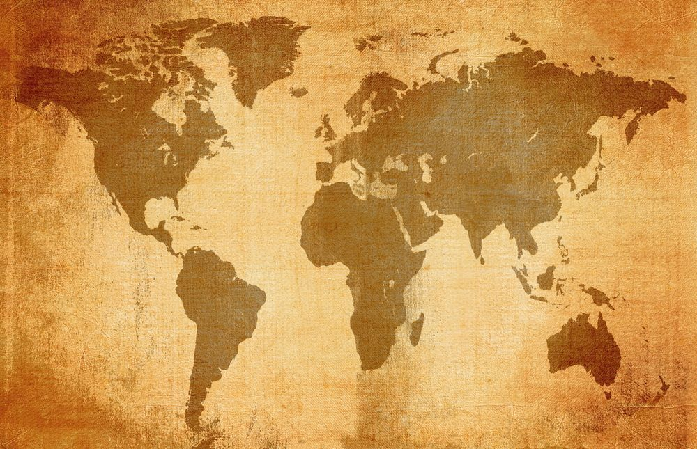 old-map-world