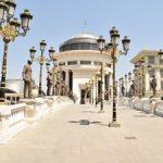 Macedonia Skopje Main Square