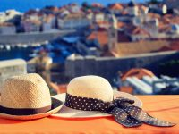 two-hats-overlooking-dubrovnik